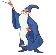merlino bacchetta magica